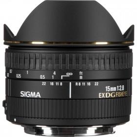 Sigma 15mm F2.8 EX DG Diagonal Fisheye Nikon