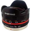 Samyang 7.5mm 1:3.5 UMC Fish-eye MFT Noir (M3/4) | Garantie 2 ans