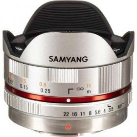 Samyang 7.5mm 1:3.5 UMC Fish-eye MFT Silver (M3/4)
