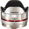 Samyang 7.5mm 1:3.5 UMC Fish-eye MFT Silver (M3/4) | Garantie 2 ans