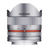 Samyang 8mm f2.8 UMC Fish-Eye CS II Sony E Silver | Garantie 2 ans