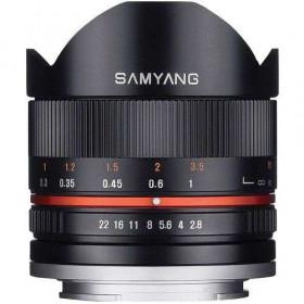 Samyang 8mm f2.8 UMC Fish-Eye CS II Fujifilm X Negro
