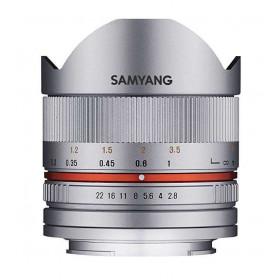 Samyang 8mm f2.8 UMC Fish-Eye CS II Fujifilm X Plata