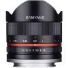 Samyang 8mm F/2.8 UMC fisheye II Canon M Noir   Garantie 2 ans
