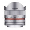 Samyang 8mm f2.8 UMC Fish-Eye CS II Fujifilm X Silver   Garantie 2 ans