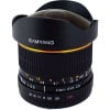 Samyang 8 mm F/3,5 UMC Fish eye CS II Canon Noir | Garantie 2 ans