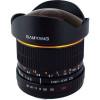 Samyang AE 8mm f/3.5 Fish-eye CS II Nikon Negro