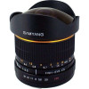 Samyang 8mm f/3.5 Fish-eye CS II Sony E Negro