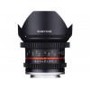 Samyang 12mm T2.2 NCS VDSLR Fuji X Negro