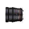 Samyang 20 mm T1.9 ED AS UMC VDSLR Canon Noir | Garantie 2 ans