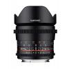 Samyang 16mm T2.6 ED AS UMC VDSLR Canon EF Negro