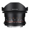 Samyang 8mm T3.8 Fisheye VDSLR CSII Canon Black | 2 Years Warranty