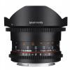 Samyang 8mm T3.8 Fisheye VDSLR CS II Nikon Noir | Garantie 2 ans