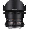 Samyang 14mm T3.1 ED AS IF UMC VDSLR II Canon Black   2 Years Warranty