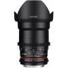 Samyang 35 mm T1.5 ED AS UMC VDSLR II Canon Negro