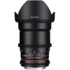 Samyang 35 mm T1.5 ED AS UMC VDSLR II Nikon Negro