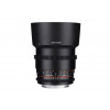 Samyang 85mm T1.5 AS IF UMC VDSLR II Nikon Black | 2 Years Warranty