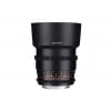 Samyang 85mm T1.5 AS IF UMC VDSLR II Nikon Negro