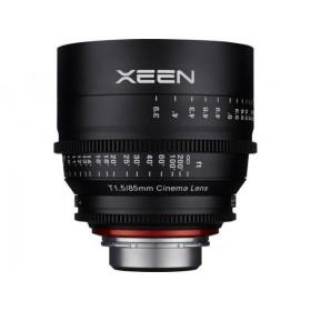 Samyang Xeen 85mm T1.5 Nikon AE Negro
