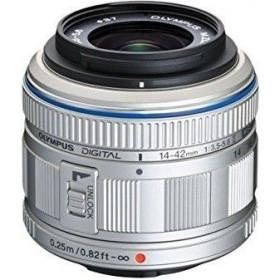 Olympus M.Zuiko Digital ED 14-42 mm 1:3.5-5.6 II Silver | 2 Years Warranty