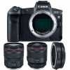 Canon EOS R + RF 24-105 mm f/4L IS USM + RF 50mm f/1.2L USM + Canon EF EOS R | 2 años de garantía