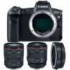 Canon EOS R + RF 24-105 mm f/4L IS USM + RF 50mm f/1.2L USM + Canon EF EOS R | Garantie 2 ans
