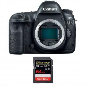 Canon EOS 5D Mark IV Body + SanDisk 64GB Extreme PRO UHS-I SDXC 170 MB/s | 2 Years Warranty