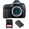 Canon EOS 5D Mark IV Nu + SanDisk 64GB Extreme PRO UHS-I SDXC 170 MB/s + Canon LP-E6N | Garantie 2 ans