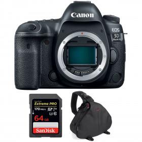 Canon EOS 5D Mark IV Body + SanDisk 64GB Extreme PRO UHS-I SDXC 170 MB/s + Camera Bag | 2 Years Warranty