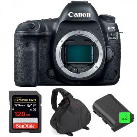 Canon EOS 5D Mark IV Nu + SanDisk 128GB Extreme PRO UHS-I SDXC 170 MB/s + 2 Canon LP-E6N + Sac