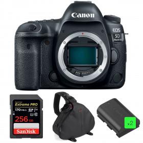 Canon EOS 5D Mark IV Cuerpo + SanDisk 256GB Extreme PRO UHS-I SDXC 170 MB/s + 2 Canon LP-E6N  + Bolsa | 2 años de garantía