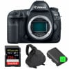 Canon EOS 5D Mark IV Nu + SanDisk 256GB Extreme PRO UHS-I SDXC 170 MB/s + 2 Canon LP-E6N  + Sac | Garantie 2 ans