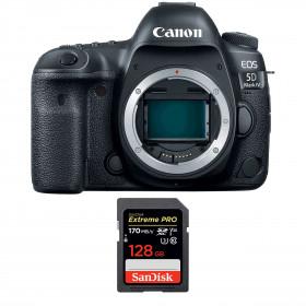 Canon EOS 5D Mark IV Body + SanDisk 128GB Extreme PRO UHS-I SDXC 170 MB/s | 2 Years Warranty