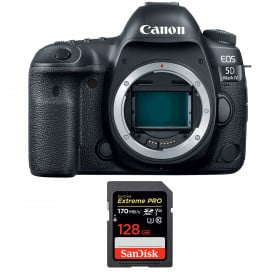 Canon EOS 5D Mark IV Cuerpo + SanDisk 128GB Extreme PRO UHS-I SDXC 170 MB/s | 2 años de garantía