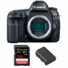Canon EOS 5D Mark IV Nu + SanDisk 256GB Extreme PRO UHS-I SDXC 170 MB/s + Canon LP-E6N | Garantie 2 ans