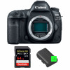 Canon EOS 5D Mark IV Body + SanDisk 64GB Extreme PRO UHS-I SDXC 170 MB/s + 2 Canon LP-E6N | 2 Years Warranty