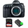 Canon EOS 5D Mark IV Nu + SanDisk 256GB Extreme PRO UHS-I SDXC 170 MB/s + 2 Canon LP-E6N   Garantie 2 ans