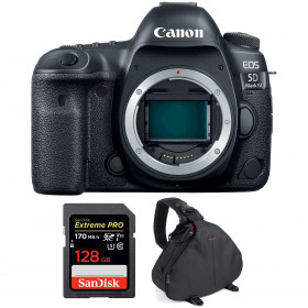 Canon EOS 5D Mark IV Body + SanDisk 128GB Extreme PRO UHS-I SDXC 170 MB/s + Camera Bag | 2 Years Warranty