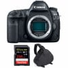 Canon EOS 5D Mark IV Body + SanDisk 256GB Extreme PRO UHS-I SDXC 170 MB/s + Camera Bag | 2 Years Warranty