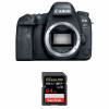 Canon EOS 6D Mark II Nu + SanDisk 64GB Extreme PRO UHS-I SDXC 170 MB/s | Garantie 2 ans
