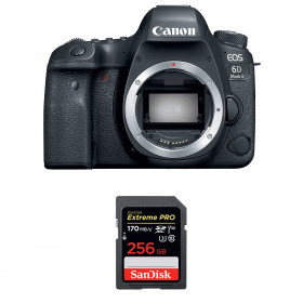 Canon EOS 6D Mark II Body + SanDisk 256GB Extreme PRO UHS-I SDXC 170 MB/s | 2 Years Warranty
