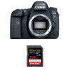 Canon EOS 6D Mark II Body + SanDisk 256GB Extreme PRO UHS-I SDXC 170 MB/s | 2 Years Warranty