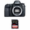 Canon EOS 6D Mark II Nu + SanDisk 256GB Extreme PRO UHS-I SDXC 170 MB/s | Garantie 2 ans