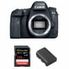 Canon EOS 6D Mark II Body + SanDisk 128GB Extreme PRO UHS-I SDXC 170 MB/s + Canon LP-E6N | 2 Years Warranty