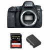 Canon EOS 6D Mark II Nu + SanDisk 256GB Extreme PRO UHS-I SDXC 170 MB/s + Canon LP-E6N | Garantie 2 ans