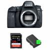 Canon EOS 6D Mark II Nu + SanDisk 128GB Extreme PRO UHS-I SDXC 170 MB/s + 2 Canon LP-E6N | Garantie 2 ans