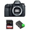 Canon EOS 6D Mark II Body + SanDisk 64GB Extreme PRO UHS-I SDXC 170 MB/s + 2 Canon LP-E6N | 2 Years Warranty