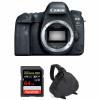 Canon EOS 6D Mark II Nu + SanDisk 64GB Extreme PRO UHS-I SDXC 170 MB/s + Sac | Garantie 2 ans