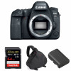 Canon EOS 6D Mark II Body + SanDisk 64GB Extreme PRO UHS-I SDXC 170 MB/s + Canon LP-E6N + Bag | 2 Years Warranty
