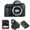 Canon EOS 6D Mark II Nu + SanDisk 128GB Extreme PRO UHS-I SDXC 170 MB/s + Canon LP-E6N + Sac | Garantie 2 ans
